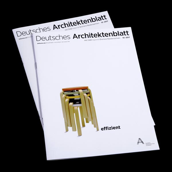 Cover Deutsches Architektenblatt